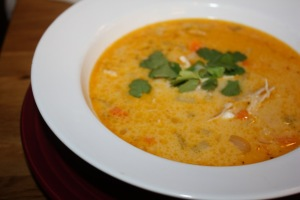 coconut thai soup