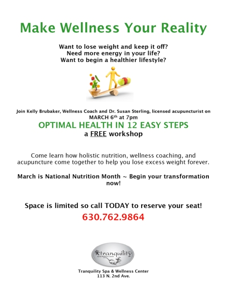 Weight Management Flyer- March 2013