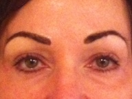 after eyebrows